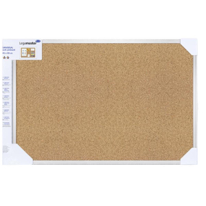 Legamaster Universal Kork Pinboard 45x60 cm, Sichtverpackung