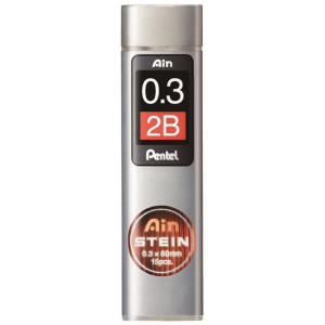 Pentel Feinmine AIN STEIN 15St, 0,3 2B