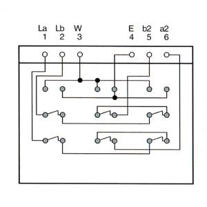 InLine TAE Anschlussdose - TAE-N/F/N - Unterputz