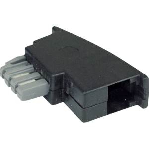 InLine TAE-N Adapter, TAE-N Stecker auf RJ11 Buchse 6P4C