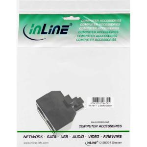 InLine ISDN Verteiler, 1x RJ45 Stecker an 2x RJ45 Buchse,...