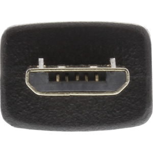 InLine Micro-USB 2.0 Kabel, USB-A Stecker an Micro-B...