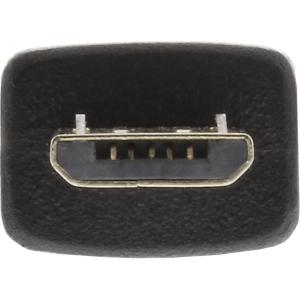 InLine Micro-USB OTG Adapterkabel, Micro-B Stecker an USB...