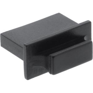 10er Pack InLine Staubschutz, für HDMI Buchse, schwarz