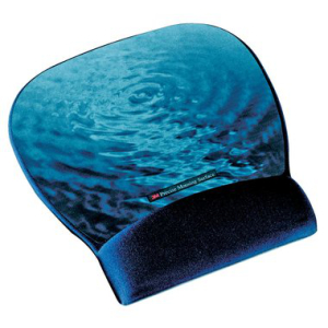 3M Mousepad Gel, 22,1x1,9x23,4cm, blau