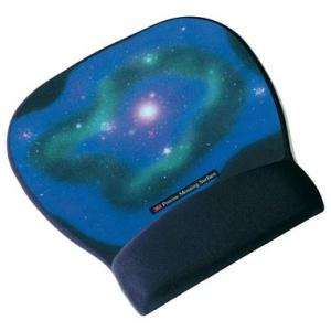 3M Mousepad Gel, 22,1x1,9x23,4cm, schwarz-bunt