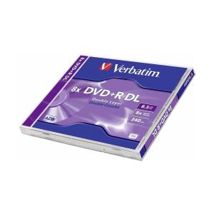 Verbatim DVD Recordable DVD+R 8,5 GB Double Layer,...