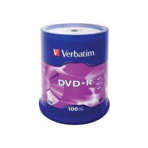 Verbatim DVD Recordable DVD+R 4,7 GB, Spindel,...