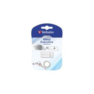 Verbatim Speicherstick USB Stic 2.0 Metal, 16 GB, USB...