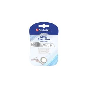Verbatim Speicherstick USB Stic 2.0 Metal, 64 GB, USB...