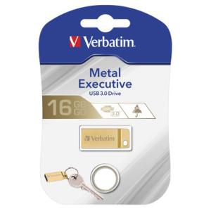 Verbatim Speicherstick USB Stic 3.0 Metal, 16 GB, USB...