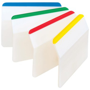 Post-it Haftstreifen Index strong, gebogen, 4x6 Streifen,...