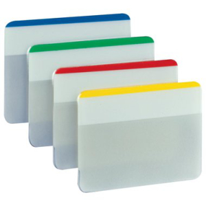 Post-it Haftstreifen Index strong, flach, 4x6 Streifen,...