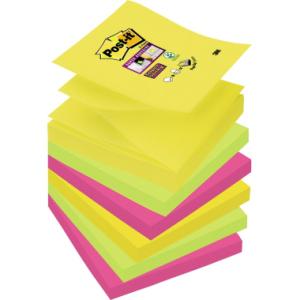 Post-it Haftnotiz Super Sticky Z-Notes, Blatt 6x90,...