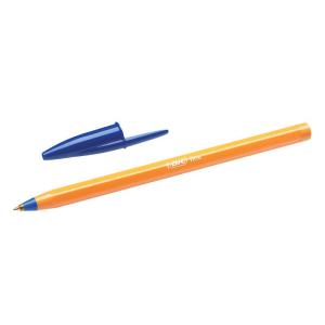 BIC Kugelschreiber Cristal Orange, Mine blau,...