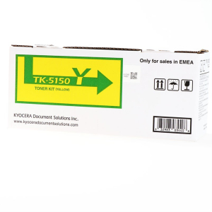 Kyocera TK-5150Y Original Lasertoner - yellow