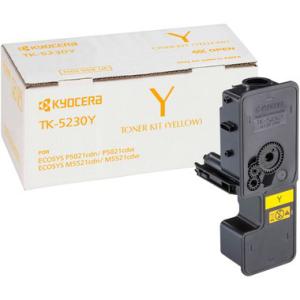 Kyocera TK-5230Y Original Lasertoner - yellow