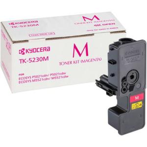 Kyocera TK-5230M Original Lasertoner - magenta