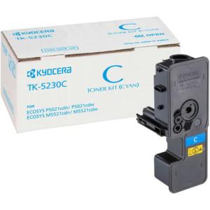 Kyocera TK-5230C Original Lasertoner - cyan