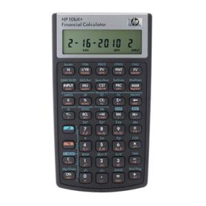 HP Taschenrechner HP 10bll+, HP 10bll+, 7,8x13,7x1,4cm