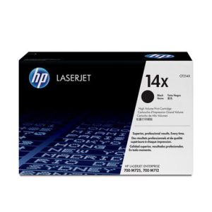 HP 14X Original Lasertoner - black