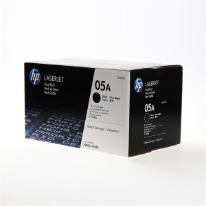 HP 05A Original Lasertoner Doppelpack - black