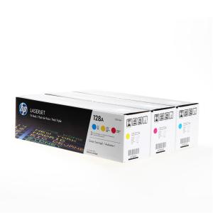 HP 128A Original Lasertoner - Multipack - cyan - magenta...