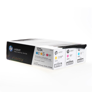 HP 125A Original Lasertoner - Multipack - cyan - magenta...