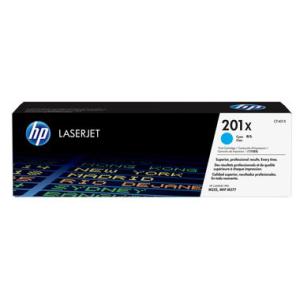 HP 201X Original Lasertoner - cyan