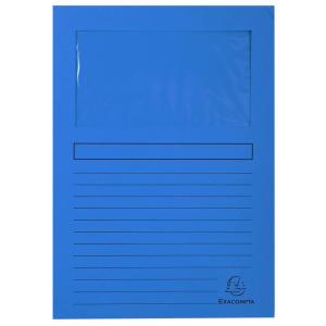 Exacompta Sichtmappe Forever, A4, 22x31cm, blau