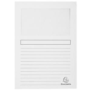Exacompta Sichtmappe Forever, A4, 22x31cm, weiß