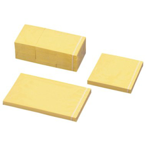 preiswert & gut Haftnotiz gelb 102 x 76mm, Blatt 12 x...