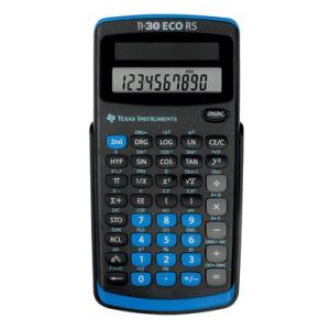 Texas Instruments Taschenrechner TI-30 ECO RS,...