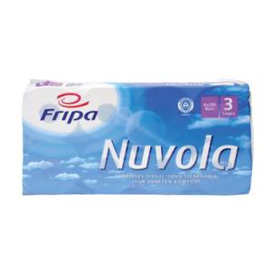 Fripa Toilettenpapier, Sorte NUVOLA, 8x250 BL, 3-lagig,...
