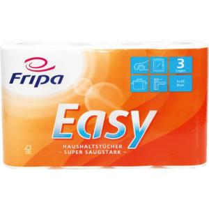 Fripa Küchenrollen saugstark, Sorte Easy, 3-lagig,...
