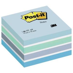 Post-it Haftnotiz-Würfel Pastellfarben, 76x76mm, 450...