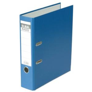 Elba Ordner rado brillant, A4, 80mm breit, blau