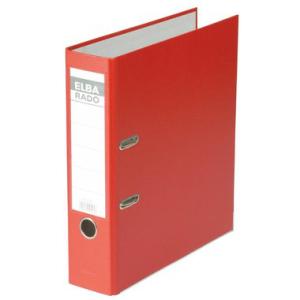 Elba Ordner rado brillant, A4, 80mm breit, rot