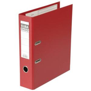 Elba Ordner rado-plast, 80mm breit, A4, rot