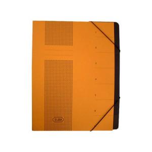 Elba Ordnungsmappe chic, Fächer 7, 25x31,5cm, gelb