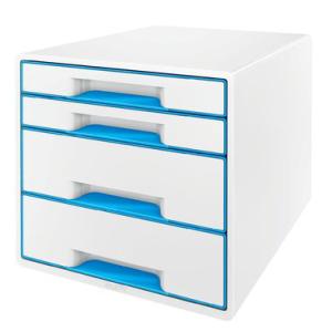 Leitz Schubladenbox WOW Cube - DIN A4 - 4 Schubladen -...
