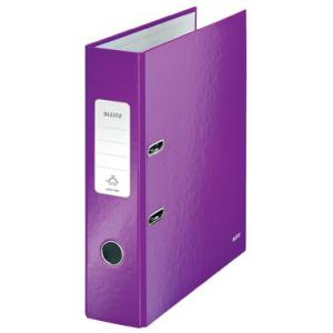 Leitz Ordner 180° WOW - DIN A4 - 8 cm - violett