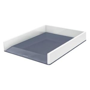 Leitz Briefkorb WOW Duo Colour - DIN A4- weiß+grau...