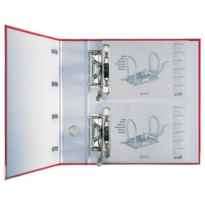 Leitz Doppelordner - DIN A4 - 2 Mechaniken - 7,5 cm -...