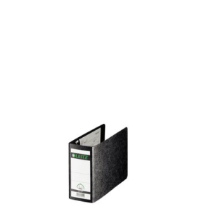 Leitz Ordner - A6 quer - Hartpappe - 8 cm - schwarz