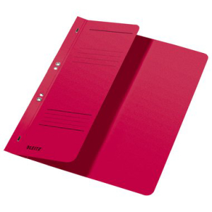 Leitz Ösenhefter - DIN A4 - halber Vorderdeckel - rot