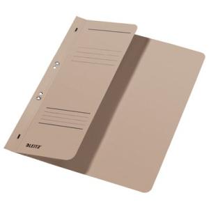 Leitz Ösenhefter - DIN A4 - halber Vorderdeckel - grau