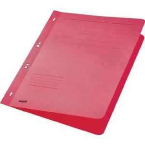 Leitz Ösenhefter - DIN A4 - ganzer Vorderdeckel - rot