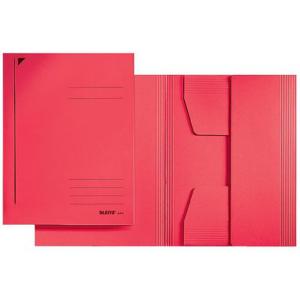 Leitz Jurismappe - Einschlagmappe - DIN A3 - rot