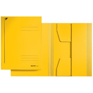 Leitz Jurismappe - Einschlagmappe - DIN A4 - gelb